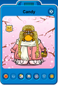 Candy Player Card - Late February 2020 3 - Club Penguin Rewritten