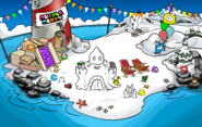 Puffle Party 2019 Beach