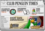 Club Penguin Times Issue 154