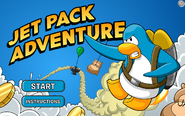 Jet Pack Adventure Menu