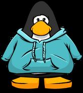Aqua Hoodie PC