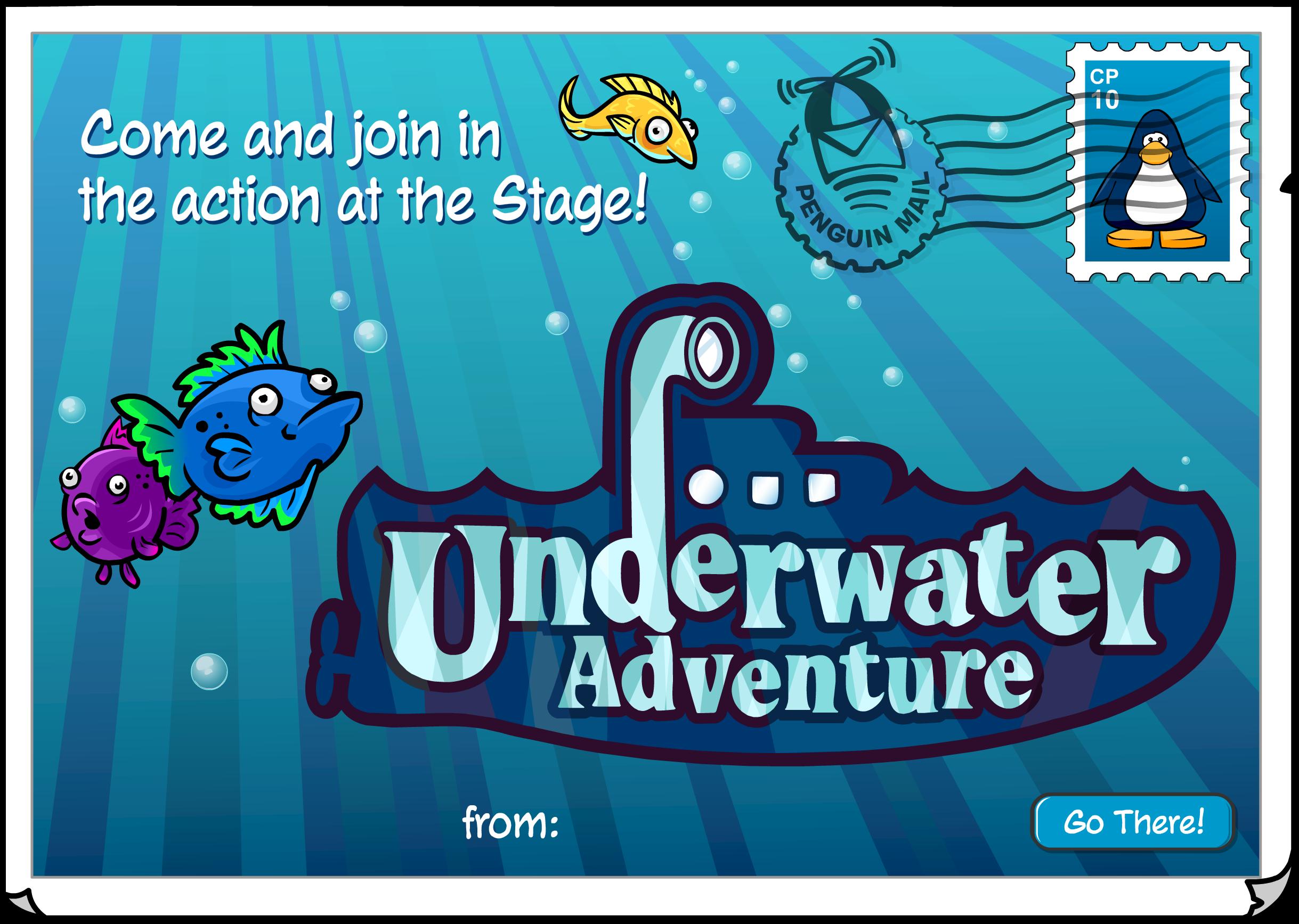 Underwater Adventure Postcard