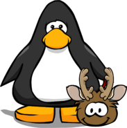 Holiday Party 2020 Brown Puffle PC