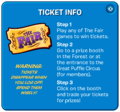 The Fair 2017 Ticket Popup