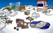Festival of Flight construction Snow Forts
