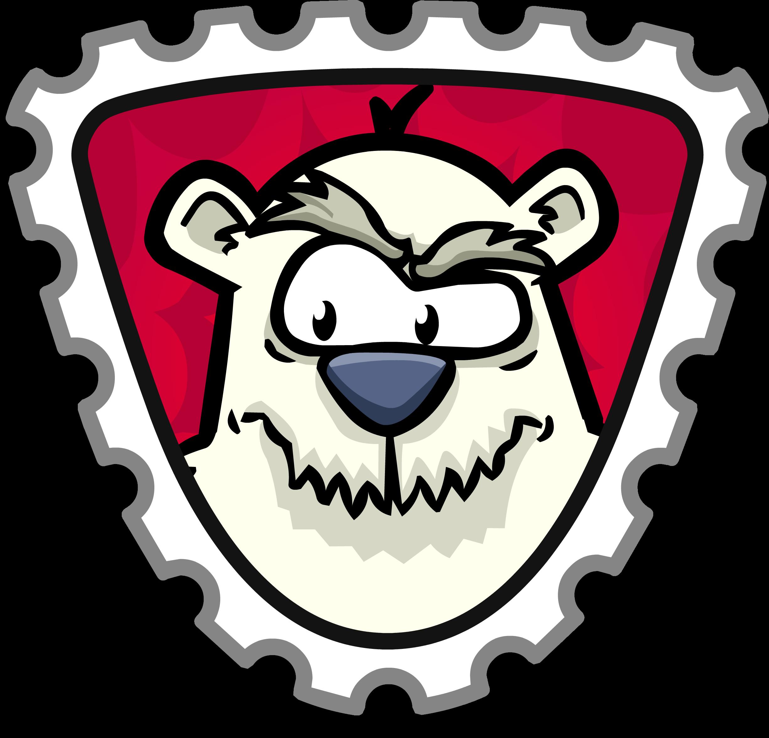 Herbert P Bear Stamp