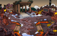 Medieval Party 2020 Snow Forts