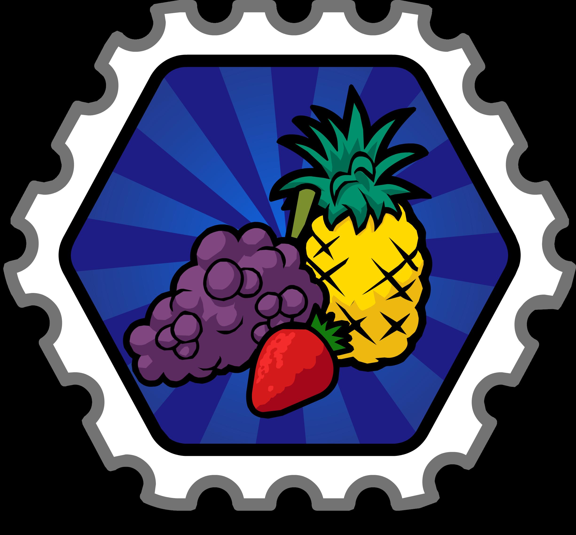 Fruit Stomper Stamp