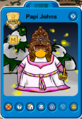 Papi Johns Playercard - Late July 2020 - Club Penguin Rewritten