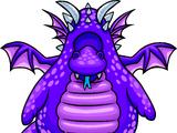 Purple Dragon Costume