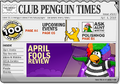 Club Penguin Times Issue 100