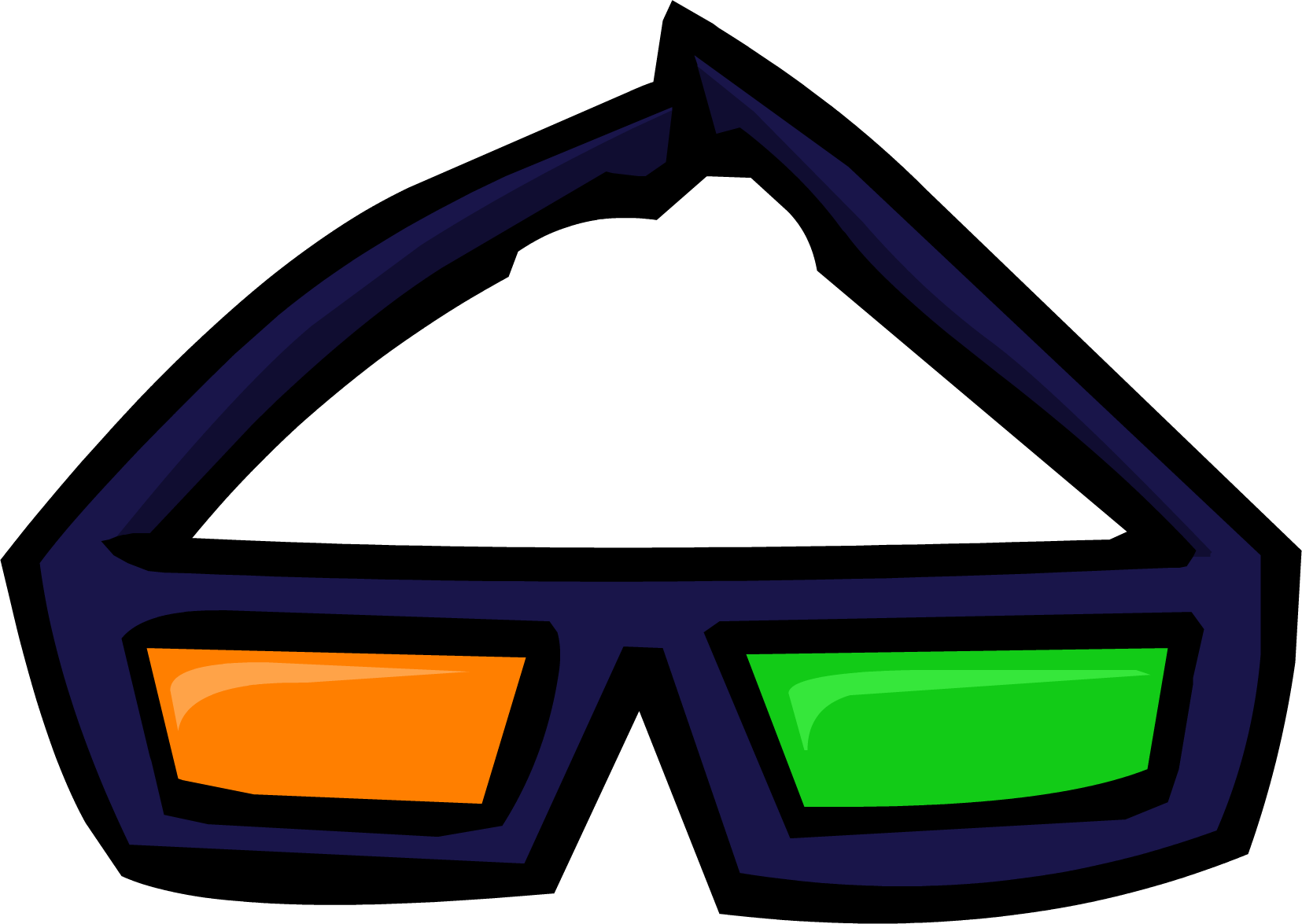 Halloween 3D Glasses
