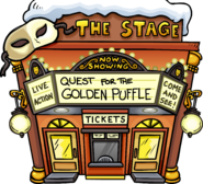 Quest for the Golden Puffle Exterior