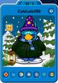 Catdude556 Player Card - Late January 2020 - Club Penguin Rewritten
