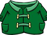 Green Duffle Coat