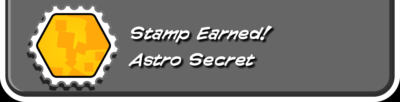 Astro Secret Stamp