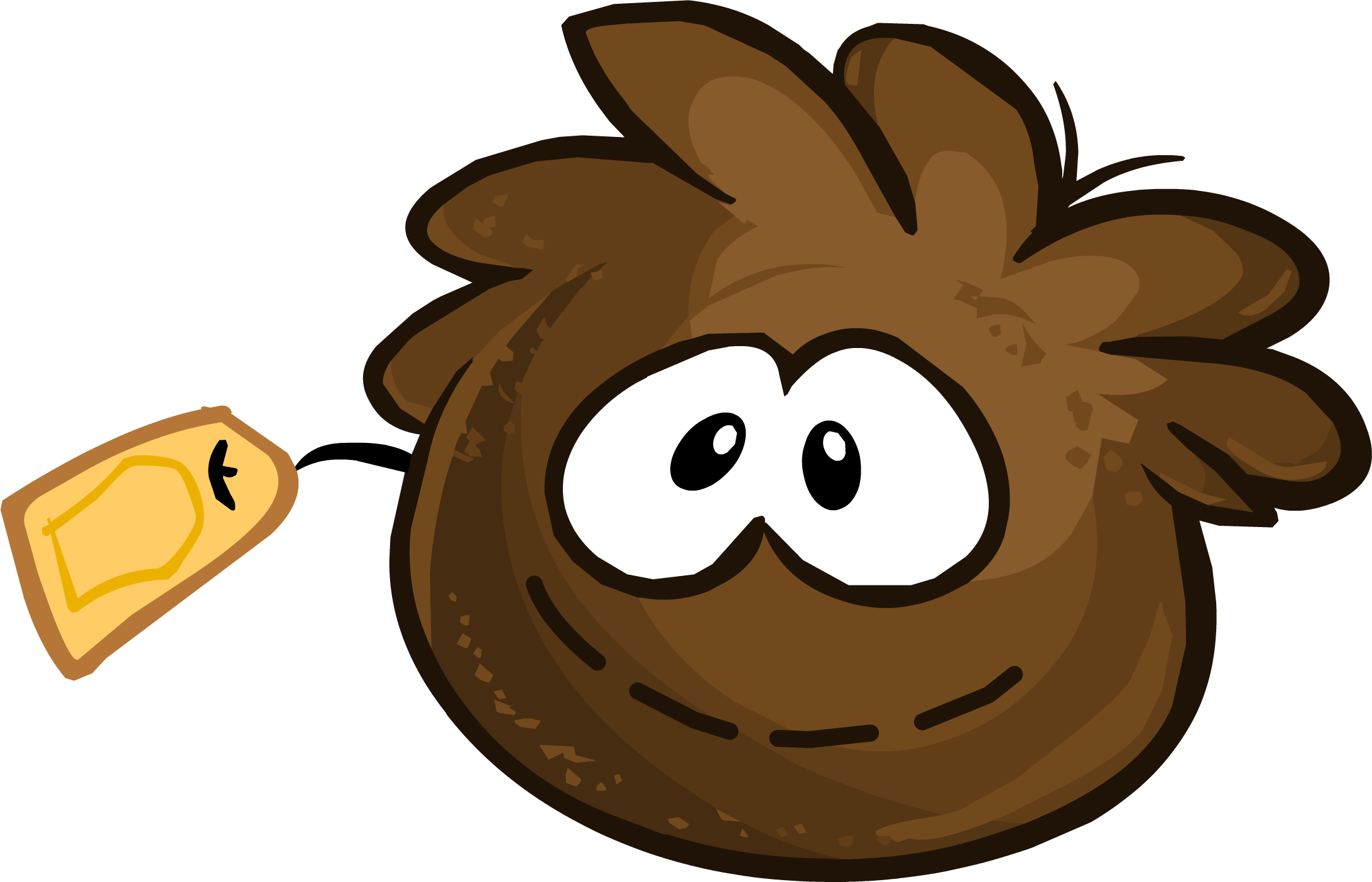 Brown Puffle Stuffie