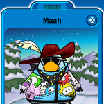 Maah Player Card - Late February 2020 - Club Penguin Rewritten.png