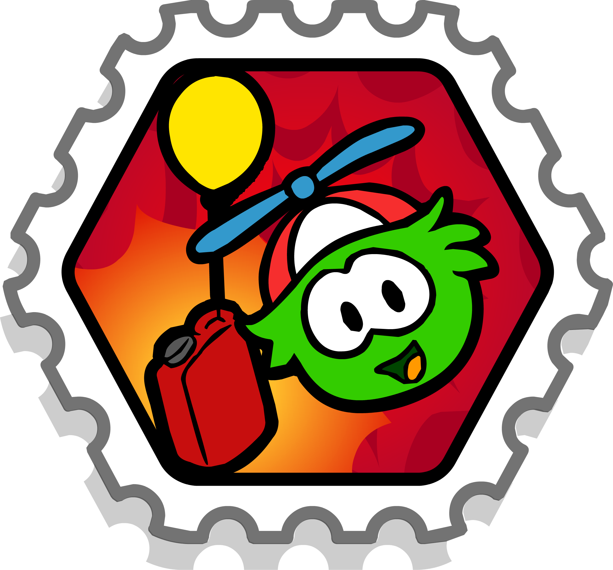 Puffle Boost Stamp