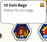 10 Coin Bags SB