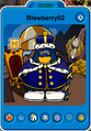 Blewberry02 Player Card - Medieval Party 2018