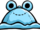 Blue Froggy Hat