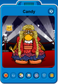 Candy Player Card - Late April 2020 - Club Penguin Rewritten
