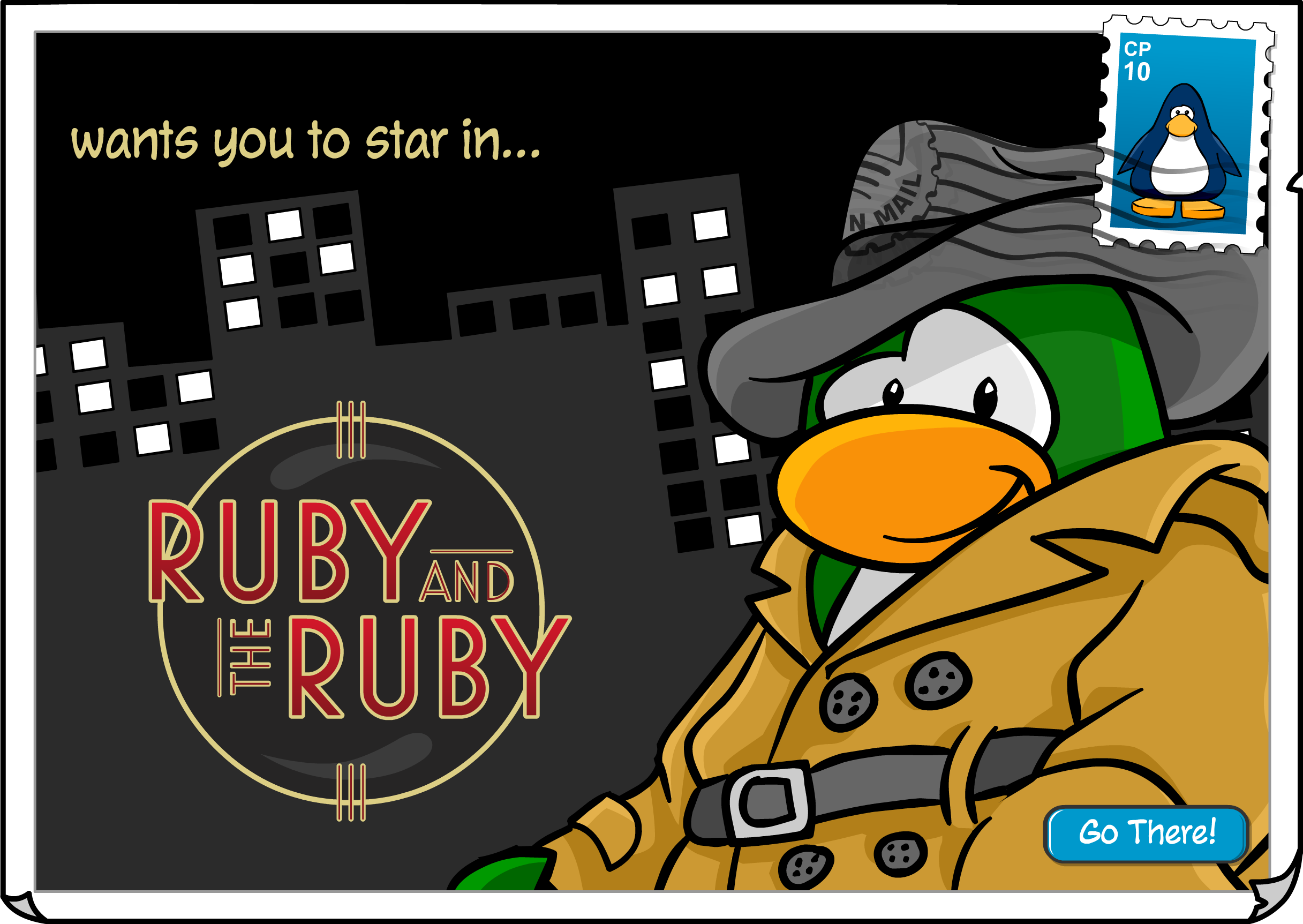 Ruby and the Ruby Postcard