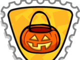 Trick-or-treat Stamp
