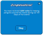 101 Days of Fun - Coin gift