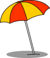 Beach Umbrella sprite 003