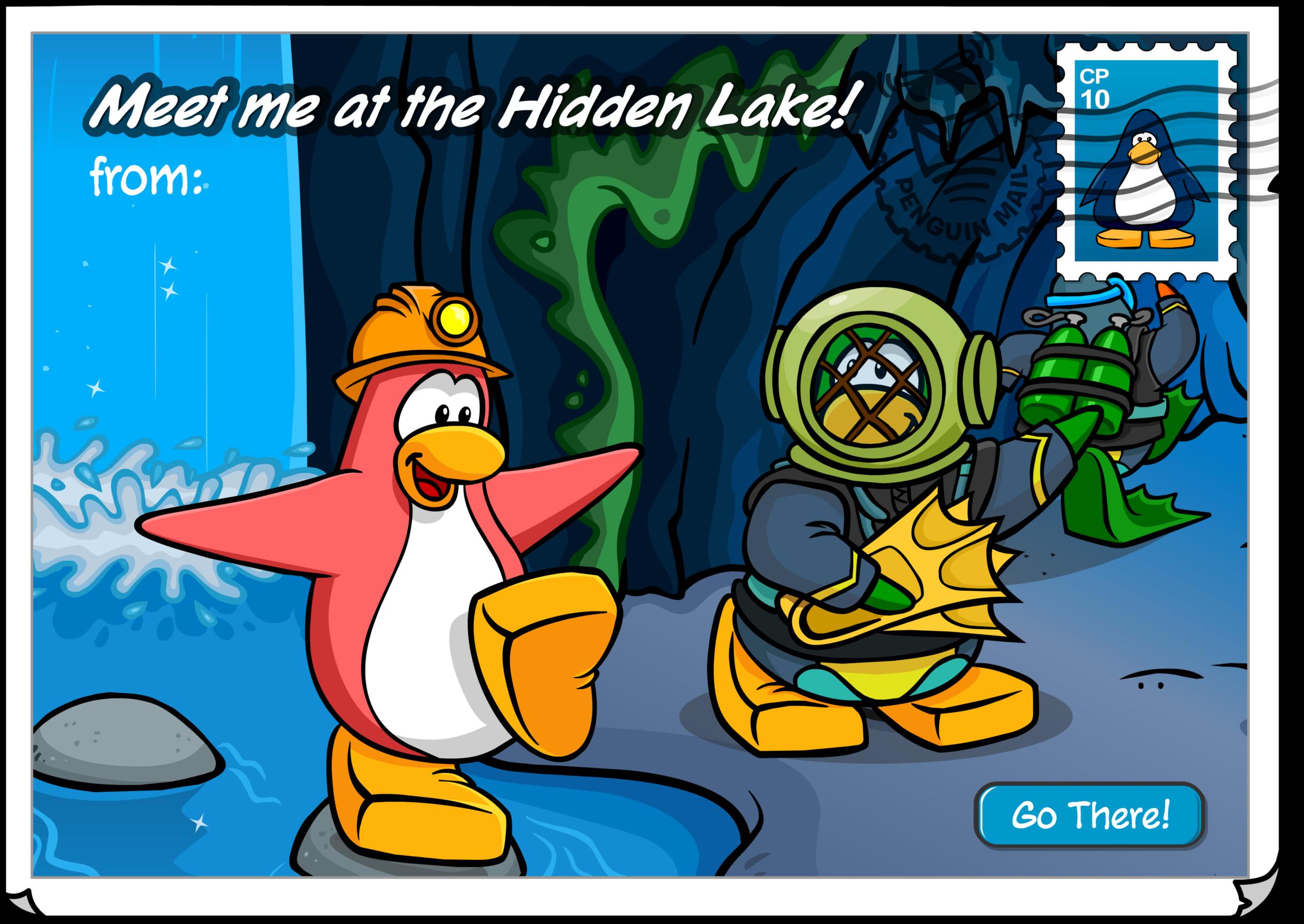 Hidden Lake Postcard