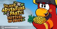 Island Adventure Party Festival of Fruit Splash Art