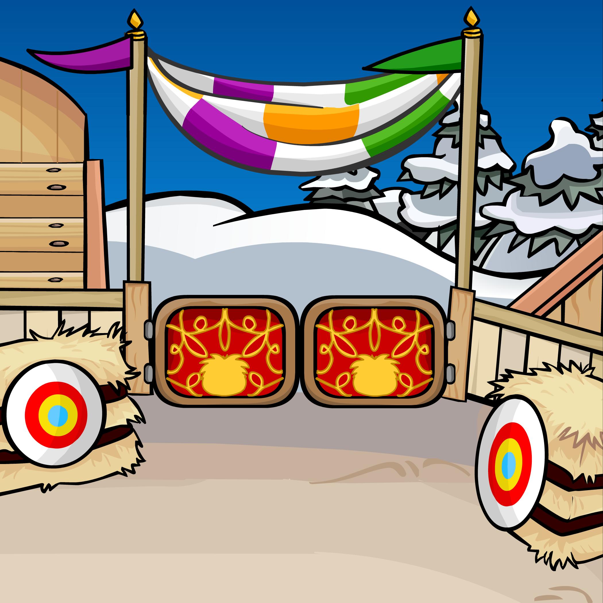 Medieval Arena Background