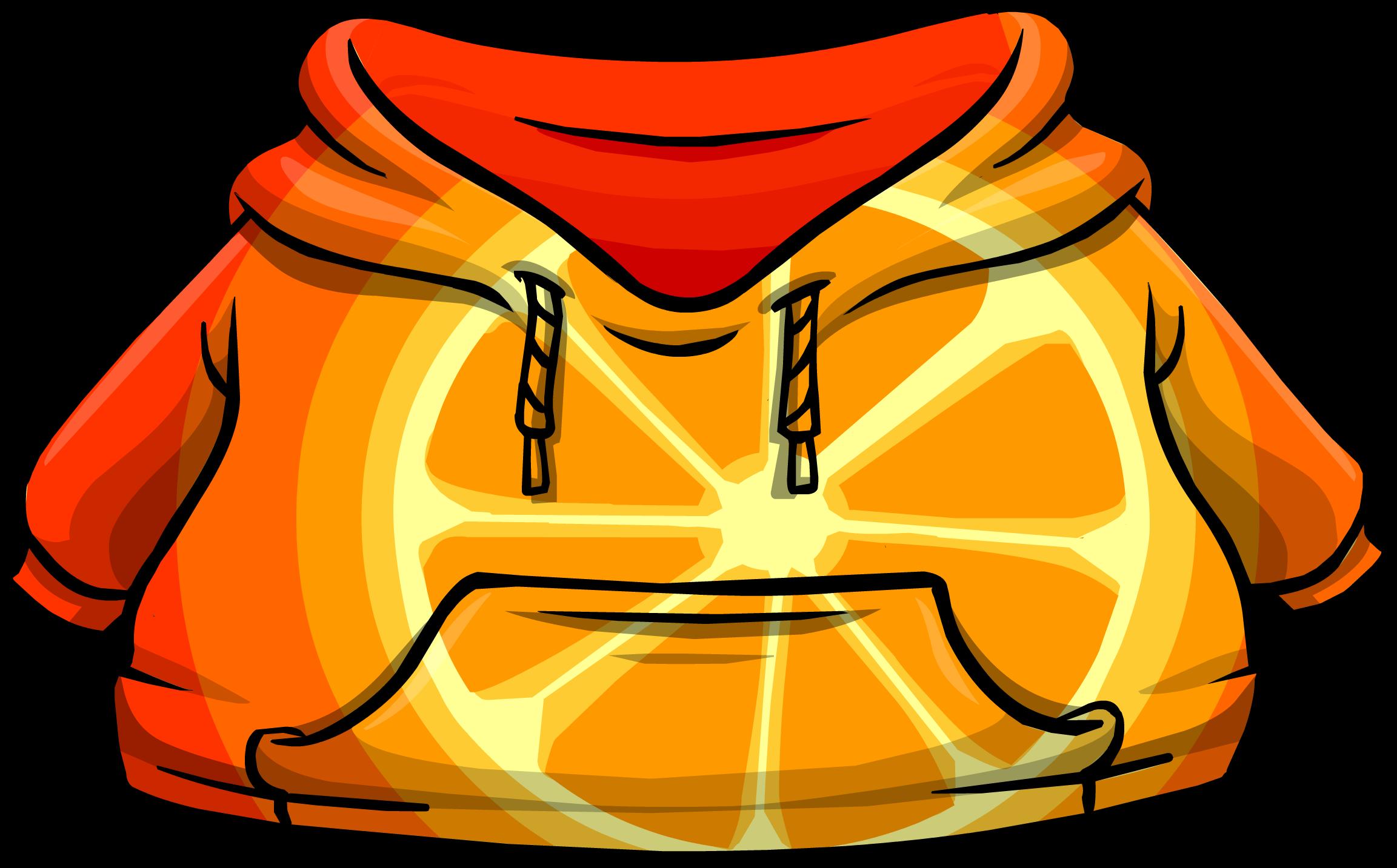 Orange Citrus Hoodie