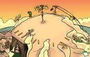 Sensei's Fire Scavenger Hunt Ski Hill