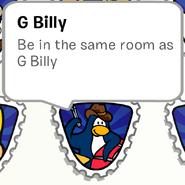 G Billy Stamp Book