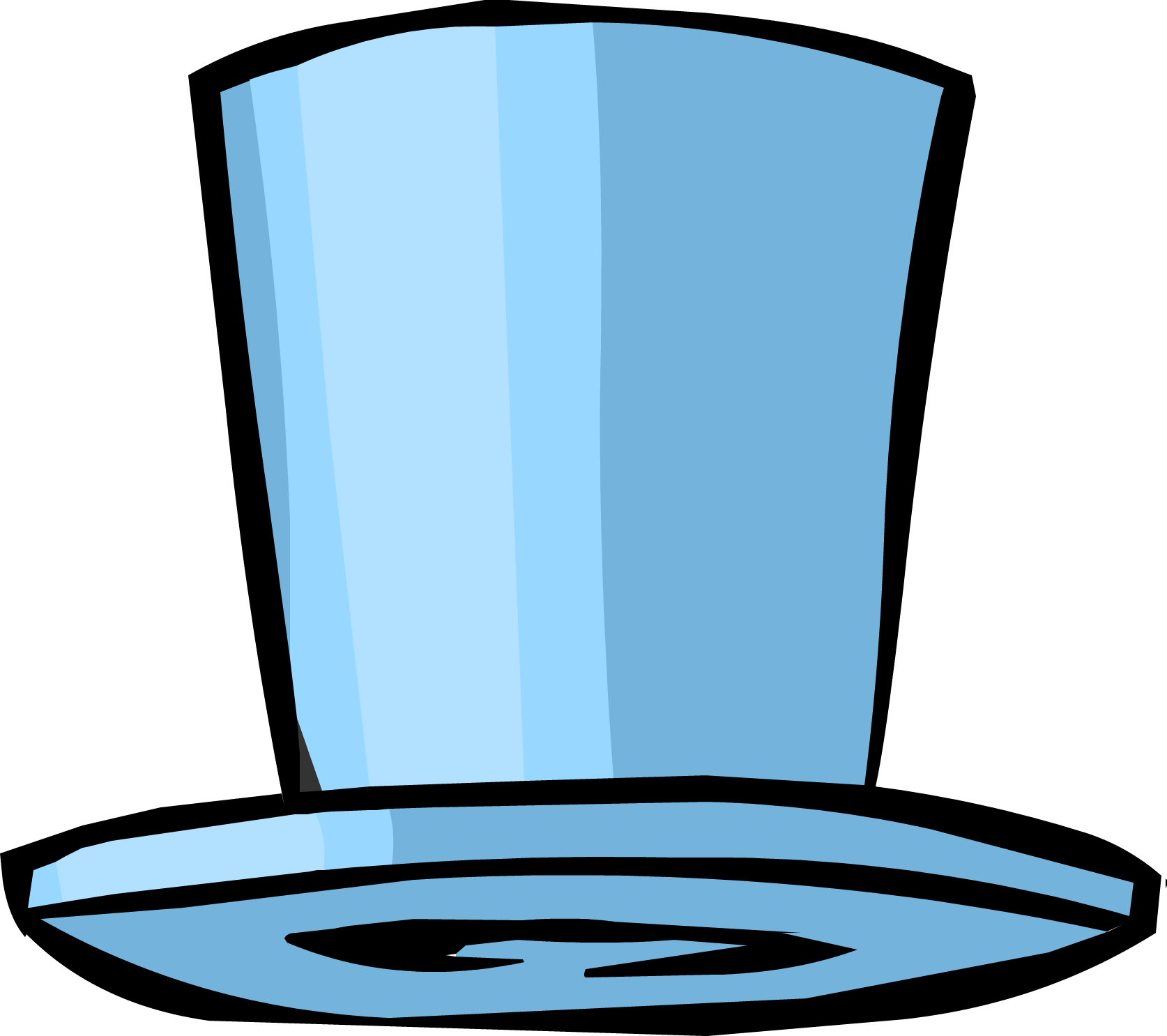 Blue Top Hat (ID 1040)