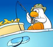Ice Fishing Polaroid 1