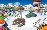 Submarine Party Snow Forts