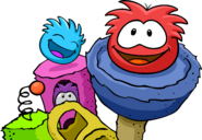 Group of Puffles Love Your Pet