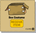 Box Costume popup