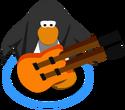 Orange Double Necked Guitar IG