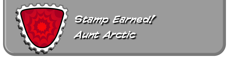 Aunt Arctic Stamp