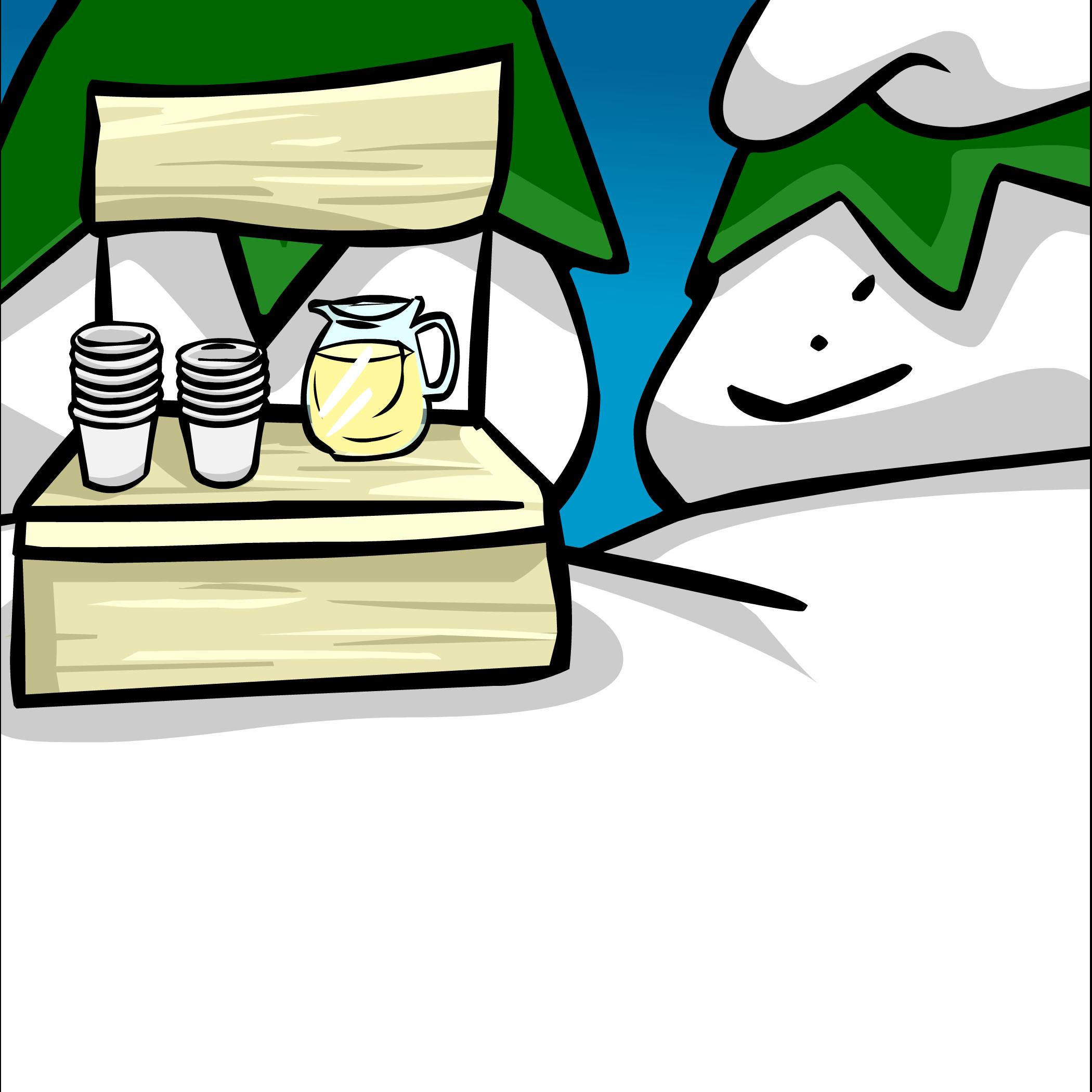 Lemonade Stand Background