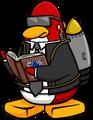 Jet Pack Guy reading The F.I.S.H