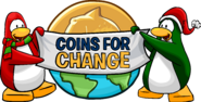 Coins for change logo 2019