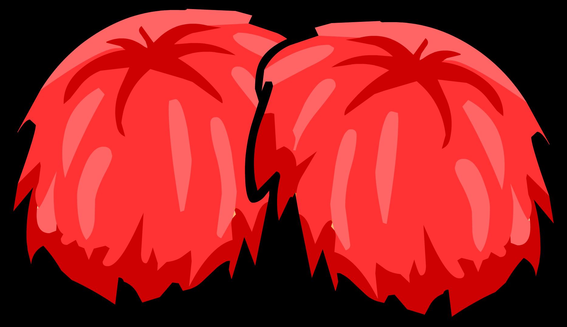 Red Pompoms
