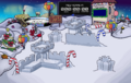 New Year's Day 2019 Snow Forts