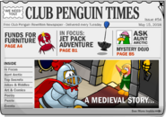 Club Penguin Times Issue 54